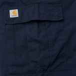 Carhartt WIP Cargo Columbia Ripstop 6.5 Oz Men`s Trousers Dark Navy Rinsed photo- 5