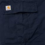 Мужские брюки Carhartt WIP Cargo Columbia Ripstop 6.5 Oz Dark Navy Rinsed фото- 5
