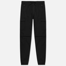 Мужские брюки Carhartt WIP Cargo Jogger Ripstop 6.5 Oz Black Rinsed фото- 0