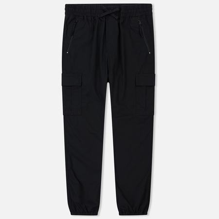 Мужские брюки Carhartt WIP Cargo Jogger Ripstop 6.5 Oz Black Rinsed