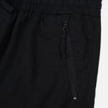 Мужские брюки Carhartt WIP Cargo Jogger Ripstop 6.5 Oz Black Rinsed фото- 2