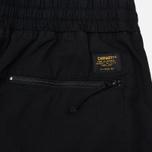 Мужские брюки Carhartt WIP Cargo Jogger Ripstop 6.5 Oz Black Rinsed фото- 4