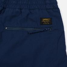 Мужские брюки Carhartt WIP Cargo Jogger Ripstop 6.5 Oz Blue Rinsed фото- 3
