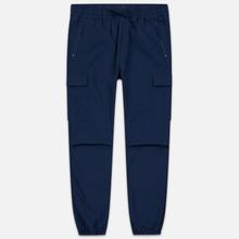Мужские брюки Carhartt WIP Cargo Jogger Ripstop 6.5 Oz Blue Rinsed фото- 0