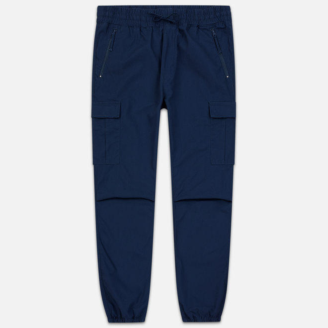 Мужские брюки Carhartt WIP Cargo Jogger Ripstop 6.5 Oz Blue Rinsed