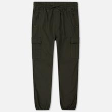 Мужские брюки Carhartt WIP Cargo Jogger Ripstop 6.5 Oz Cypress Rinsed фото- 0