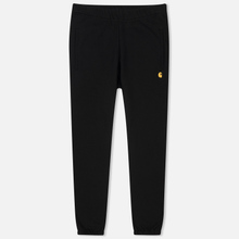 Мужские брюки Carhartt WIP Chase 13 Oz Black/Gold фото- 0
