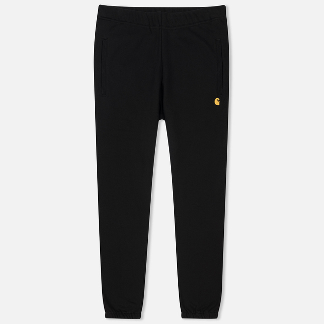 Мужские брюки Carhartt WIP Chase 13 Oz Black/Gold
