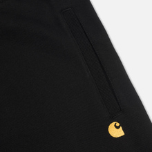 Мужские брюки Carhartt WIP Chase 13 Oz Black/Gold фото- 2