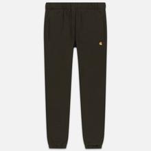 Мужские брюки Carhartt WIP Chase 13 Oz Cypress фото- 0