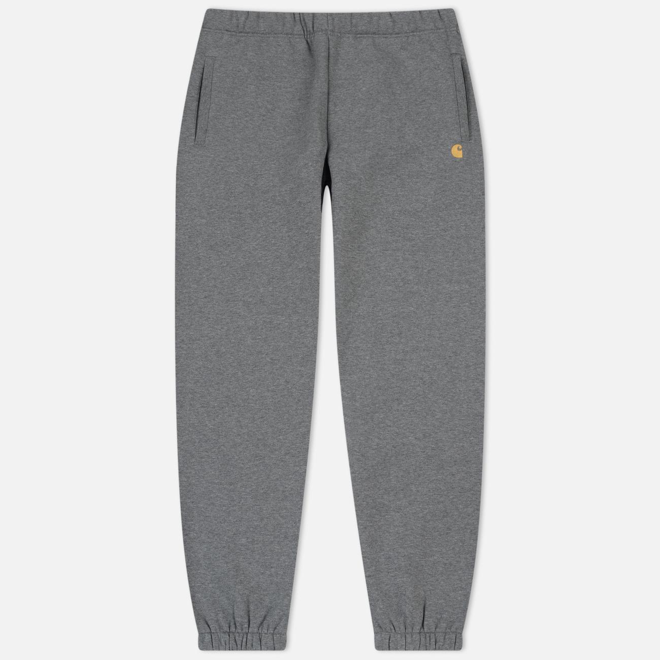 Мужские брюки Carhartt WIP Chase 13 Oz Dark Grey Heather/Gold