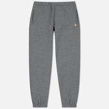 Мужские брюки Carhartt WIP Chase 13 Oz Dark Grey Heather/Gold фото- 0