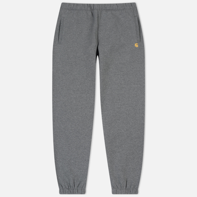 Мужские брюки Carhartt WIP Chase 13 Oz Dark Grey Heather/Gold