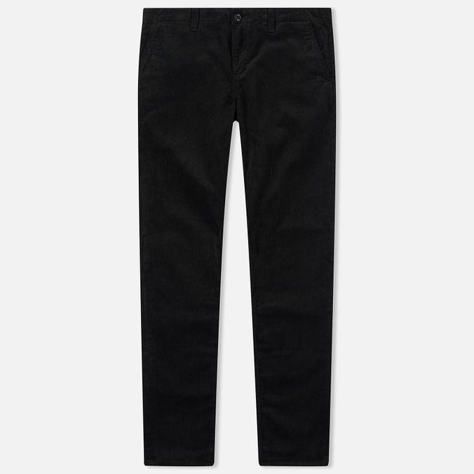 Мужские брюки Carhartt WIP Chino Club 9.7 Oz Black Rinsed