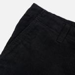 Мужские брюки Carhartt WIP Chino Club 9.7 Oz Black Rinsed фото- 3