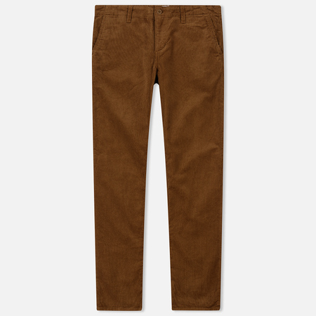 Мужские брюки Carhartt WIP Chino Club 9.7 Oz Hamilton Brown Rinsed