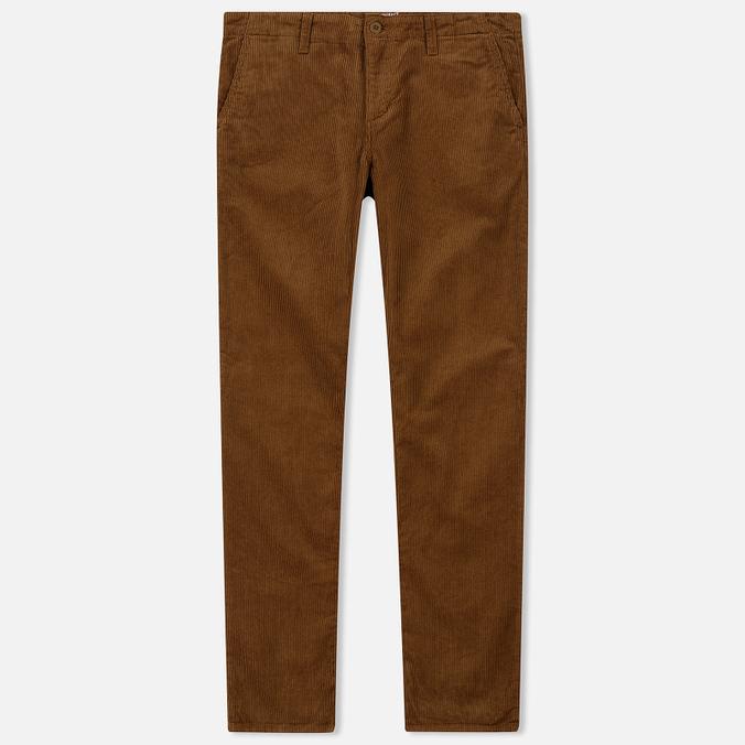 Мужские брюки Carhartt WIP Chino Club 9.7 Oz Hamilton Brown Rinsed
