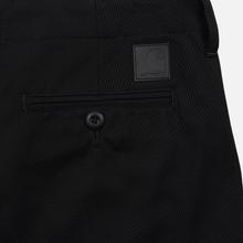 Мужские брюки Carhartt WIP Club 9 Oz Black Rigid фото- 1