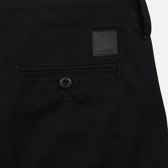 Мужские брюки Carhartt WIP Club 9 Oz Black Rigid