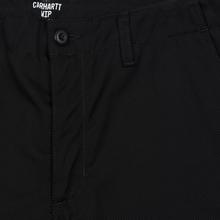 Мужские брюки Carhartt WIP Club 9 Oz Black Rigid фото- 2