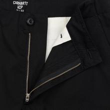 Мужские брюки Carhartt WIP Club 9 Oz Black Rigid фото- 5