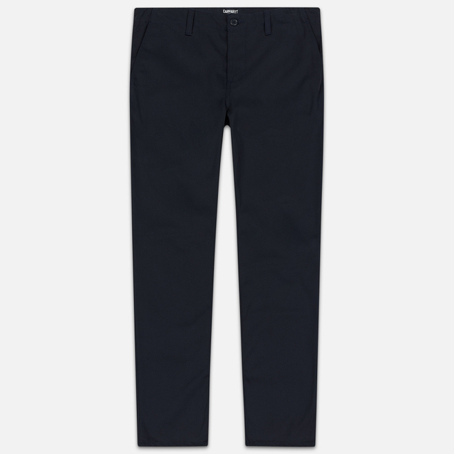 Мужские брюки Carhartt WIP Club 9 Oz Dark Navy Rigid