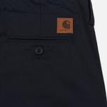 Мужские брюки Carhartt WIP Club 9 Oz Dark Navy Rigid фото- 5