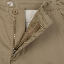 Мужские брюки Carhartt WIP Club 9 Oz Leather Rigid фото- 2