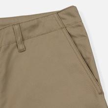 Мужские брюки Carhartt WIP Club 9 Oz Leather Rigid фото- 3