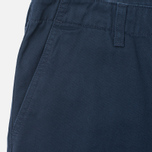Carhartt WIP Club Cotton Questa Twill 9 Oz Duke Men`s Trousers Blue Rinsed photo- 2