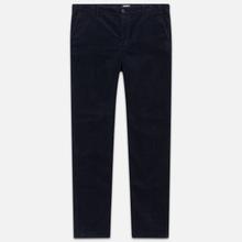 Мужские брюки Carhartt WIP Club Wales 9.4 Oz Dark Navy Rinsed фото- 0