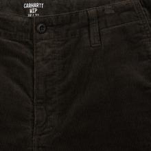 Мужские брюки Carhartt WIP Club Wales 9.4 Oz Tobacco Rinsed фото- 1