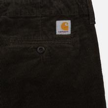 Мужские брюки Carhartt WIP Club Wales 9.4 Oz Tobacco Rinsed фото- 2