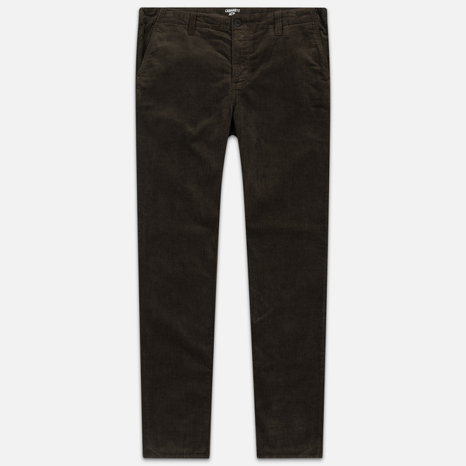 Мужские брюки Carhartt WIP Club Wales 9.4 Oz Tobacco Rinsed