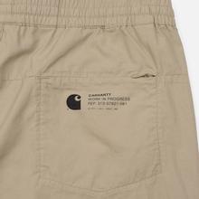 Мужские брюки Carhartt WIP Coleman 4.4 Oz Wall/Black фото- 3