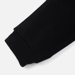 Мужские брюки Carhartt WIP College 9.4 Oz Black/White фото- 3
