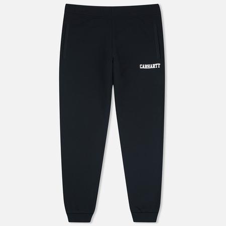 Мужские брюки Carhartt WIP College Sweat Black/White