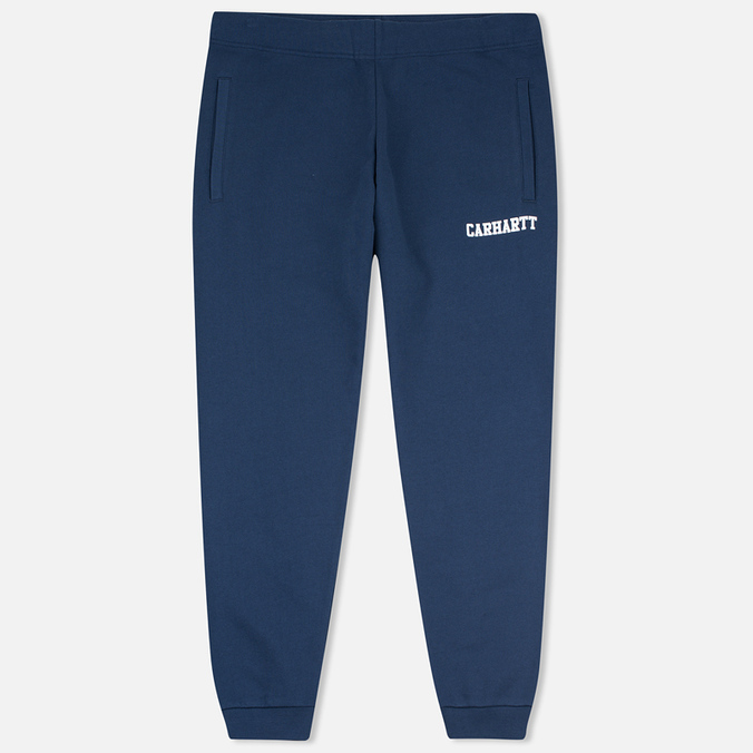Мужские брюки Carhartt WIP College Sweat Blue/White