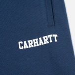 Мужские брюки Carhartt WIP College Sweat Blue/White фото- 2