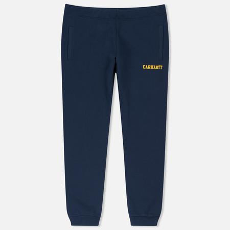Мужские брюки Carhartt WIP College Sweat Blue/Yellow