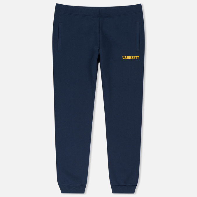 Мужские брюки Carhartt WIP College Sweat Blue/Yellow