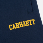 Мужские брюки Carhartt WIP College Sweat Blue/Yellow фото- 2