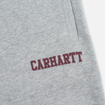 Carhartt WIP College Sweat Men`s Trousers Heather/Cordovan photo- 2