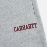 Мужские брюки Carhartt WIP College Sweat Heather/Cordovan фото- 2