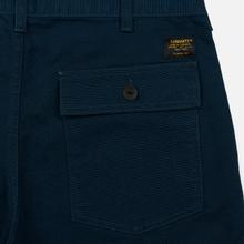 Мужские брюки Carhartt WIP Fatigue 12 Oz Duck Blue Rinsed фото- 2