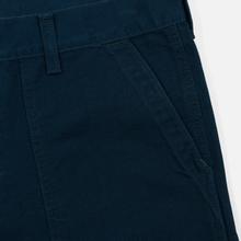Мужские брюки Carhartt WIP Fatigue 12 Oz Duck Blue Rinsed фото- 5