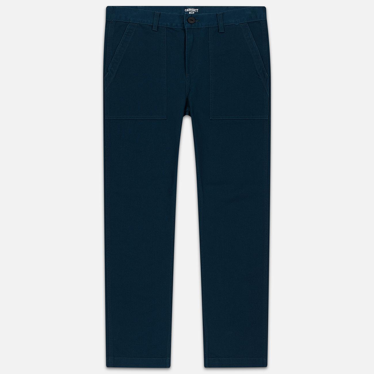 Мужские брюки Carhartt WIP Fatigue 12 Oz Duck Blue Rinsed