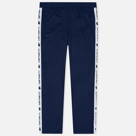 Мужские брюки Carhartt WIP Goodwin 6.5 Oz Metro Blue/White