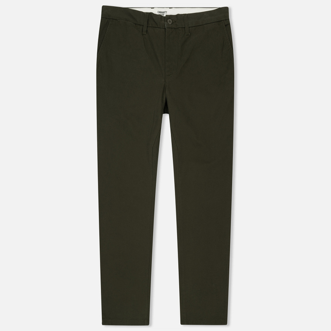 Мужские брюки Carhartt WIP Johnson 8.75 Oz Cypress Rinsed