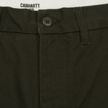 Мужские брюки Carhartt WIP Johnson 8.75 Oz Cypress Rinsed фото- 2